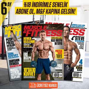 Muscle&Fitness 6 Ay Abonelik