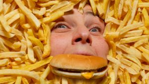 gorging-on-junk-food