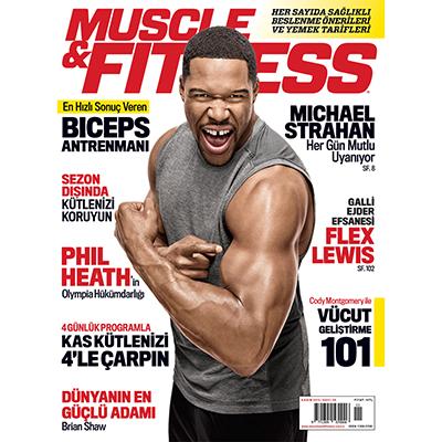 Muscle & Fitness Kasım 2015 Kapak