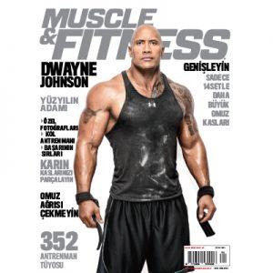 Muscle & Fitnsess Ocak 2016 Kapak
