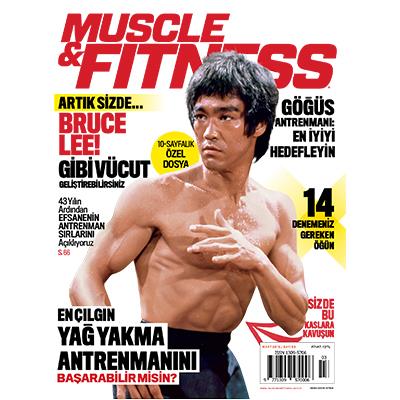 Muscle & Fitnes Mart 2016 Kapak