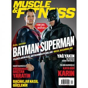 Muscle & Fitness Nisan 2016 Kapak Görseli