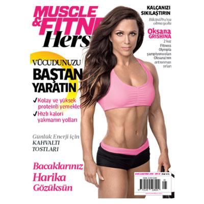 Muscle & Fitness Hers Mayıs - Haziran 2016