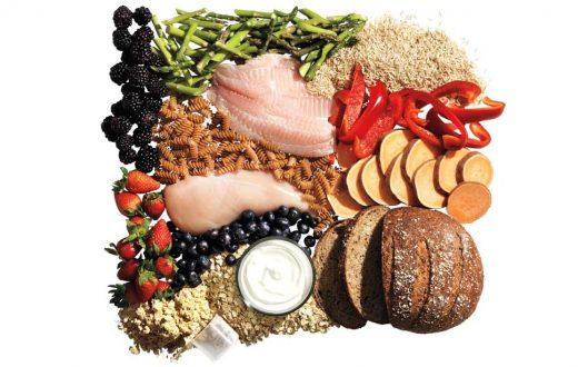 carb-rotating-diet-groceries-healthy-food