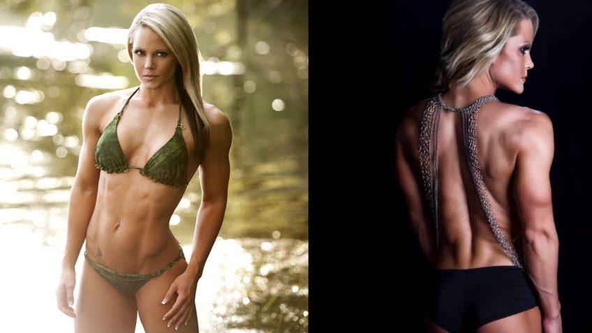 Nicole Wilkins bikini