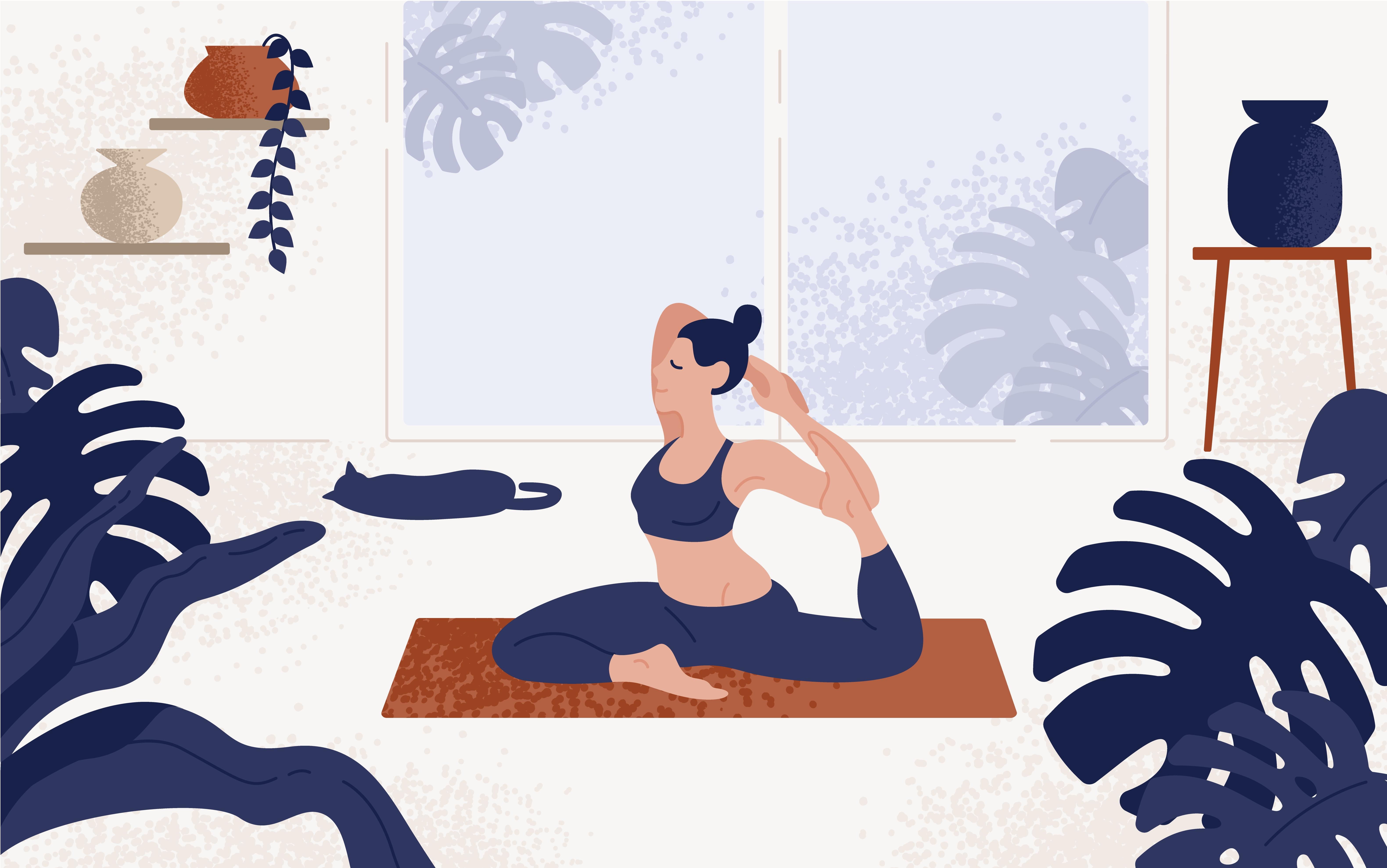 yoga ile zayıflamak çok kolay