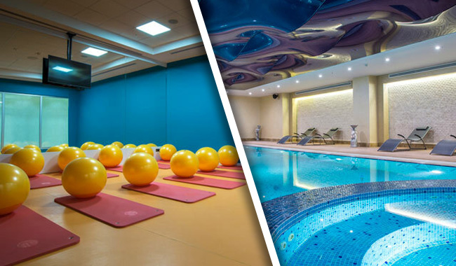 Park Inn Spa & Fit (by Radisson) spor salonunda hamam, havuz ve gym alanından faydalanın.